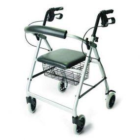 Mobility Smart Lightweight Aluminium Rollator - Quartz