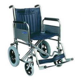 Extra Wide Heavy-Duty Transit Wheelchair (Non Folding Back)