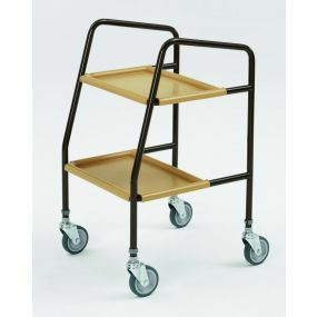 Adjustable Walking Trolley - Plastic Shelves