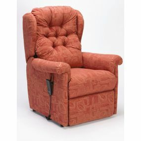 Seattle Intalift Rise & Recline Armchair - Terracotta