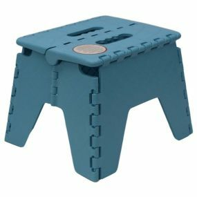 Robust Plastic Folding Step Stool - Colour May Vary