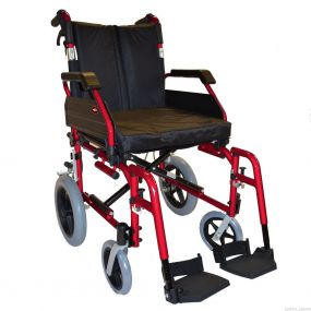 The Enigma XS Standard Aluminium Wheelchair - Transit Red 20