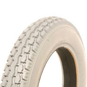 Cheng Shin - Solid / Puncture Proof Grey Tyre (Pattern Block C628) - 12.1/2 X 2.1/4
