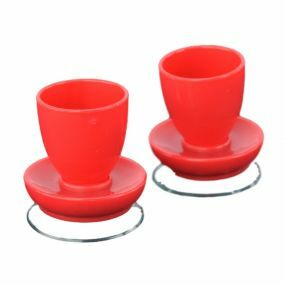 Egg Cups - Red