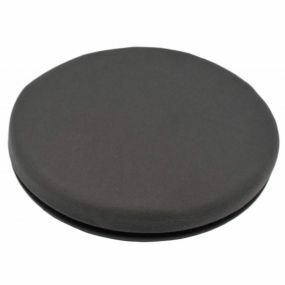 Shine Velour Cover Turning Cushion - Grey (15.5x2