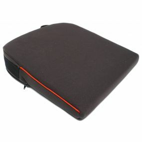 Harley 8º Velour Cover Wedge Cushion - Black (14x14x3