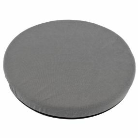 Z-Tec Velour Cover Turning Cushion - Grey (15x2