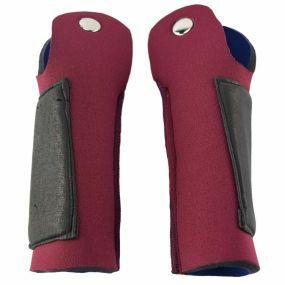 Deluxe Crutch Handle Sleeves For Standard Handles (Pair) - Burgundy