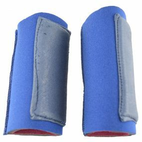 Slip-On Crutch Handle Sleeves For Standard Handles - Blue