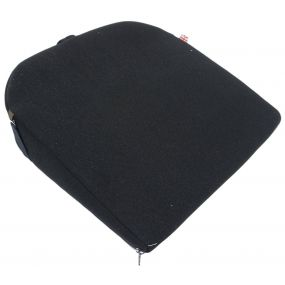 Putnams 11 Degrees Velour Cover Wedge Cushion - Navy (14x14x3