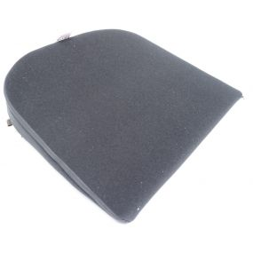 Putnams .8° Velour Cover Wedge Cushion - Black (14x14x3