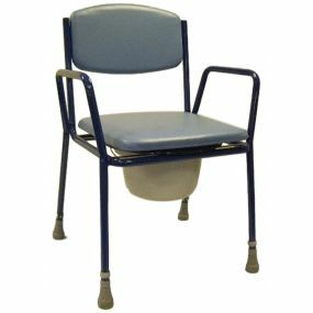 Super Deluxe Commode Chair With Removeable Arms