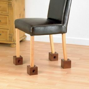 Wooden Chair/Bed Raisers - 7.5cm (3