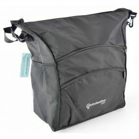 Deluxe Coloured Wheelchair Bag - Black