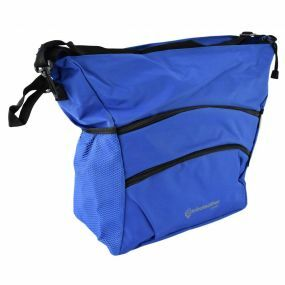 Deluxe Coloured Wheelchair Bag - Blue