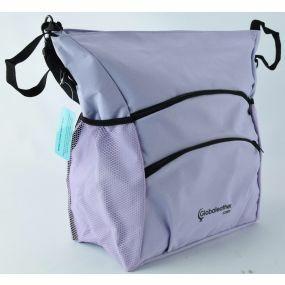 Deluxe Coloured Wheelchair Bag - Lilac