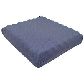 Putnams Sero Pressure Crescent cut-out Convoluted Stockinette Cover Pressure Relief Cushion - Blue (16x16x3