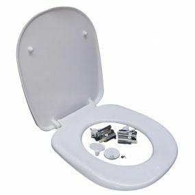 Ergonomic Toilet Seat - White