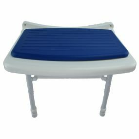 Standard Fold Up Shower Seat - Blue