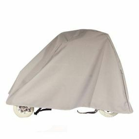 Grey Shaped Heavy Duty Mobility Scooter Cover - Medium