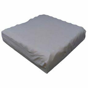 Putnams Sero Pressure Coccyx cut-out Convoluted Velour Cover Cushion - Cream (16.5x16x3.5