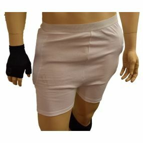 Impacta Active Unisex Hip Protection Briefs - White (Large)
