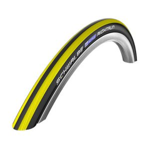 Schwalbe - RightRun Coloured Wheelchair Tyres - Yellow/Black, Size: 26 x 1