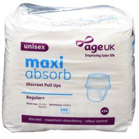 Age UK Maxi Absorb Discreet Pull Ups Regular+ - Medium (PK14)