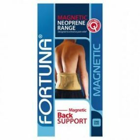 Fortuna Neoprene Magnetic Back Support