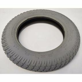 Primo - Pneumatic Grey Tyres (Pattern Block C9210 Round Type) - 250 x 8