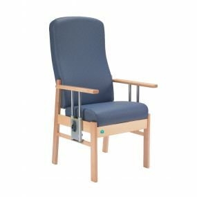 Aylesbury High Back Chair with Drop Arms