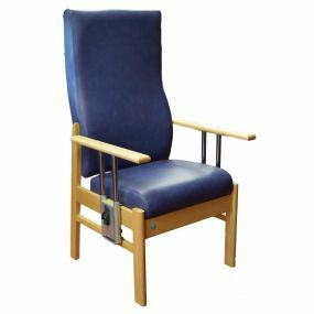 Aylesbury High Back High Seat Drop Arm Chair - Voyage Indigo