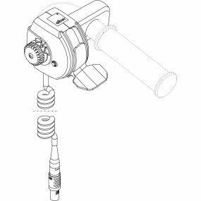 Invacare Alber Viaplus V12 Powerpack - Hand Control Unit