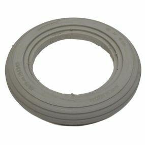 GreenTyre - Solid Grey Tyre - 8 x 1 1/4