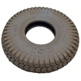 DSI - Pneumatic Grey Tyre (Block Pattern) (3.00-4)