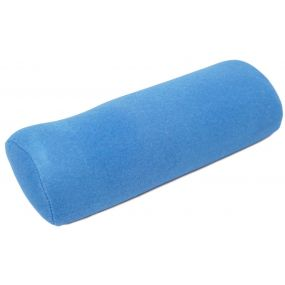 Performance Health Velour Cover D Lumbar Roll - Blue (12x2