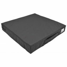 Prima Visco-Elastic Cushion - Black (18x17.7x2.7