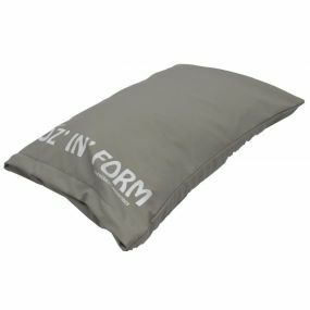 Poz 'n' Form Vinyl Cover Cushion - Grey (14x15x4