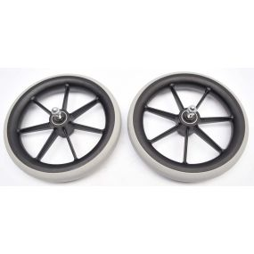 Invacare Alu Lite Wheelchair - Replacement Front Wheels (Pair)