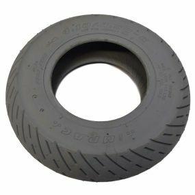 Impac - Pneumatic Grey Tyre (Scallop Rib IS306) - 410/350 X 6