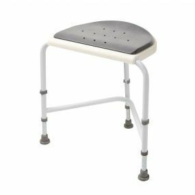 Nuvo - Corner Shower Stool - Padded Seat