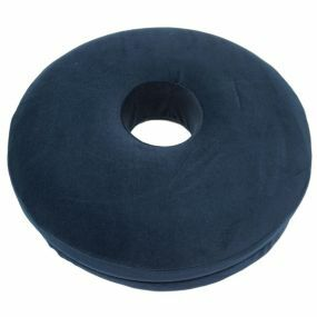 Active Living   Smooth Memory Foam  Ring Cushion - Blue (15x3.25