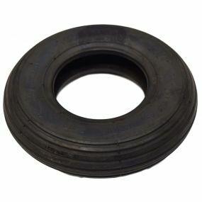 Black Ribbed Tyre - C179B  200 x 50 (8x2)