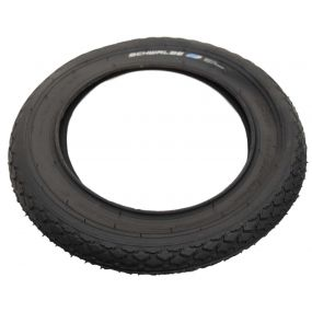 Schwalbe - HS159 Black Wheelchair Tyre - 12 1/2 x 2 1/4 (62 x 203)