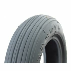Impac - Pneumatic Grey Tyre (Pattern Rib IS300) - Size: 7 x 1¼