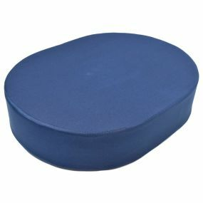 Drive Devilbis Standard Foam Oval Cushion - Blue (17x12.5x3.5