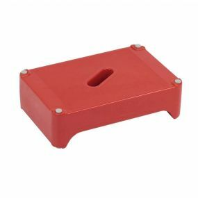 Ashby Step Two Bath Step - Red
