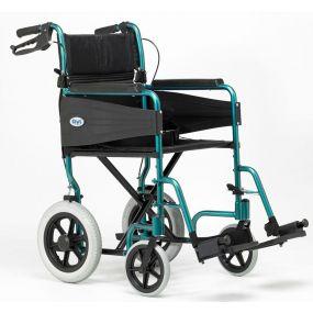 Escape Lite Lightweight Wheelchair - Racing Green - Narrow