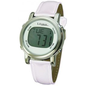 Chic Atomic Talking Watch - White