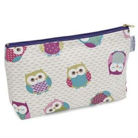 Blue Badge Company Toiletry Bag - Owls